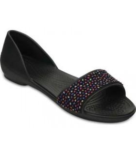 Crocs Lina Embellished D'Orsay Black/Multi
