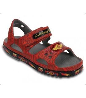 Crocband II LightningMcQueen  Flame Sandal