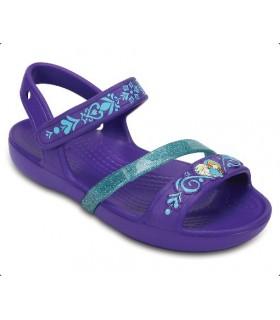 Crocs Lina Frozen Sandal K Ultraviolet Sandal