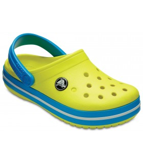 Crocband Clog Tennis ball green / Ocean