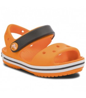 Crocband Sandal Kids Blazing Orange / Slate Grey