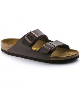 Birkenstock Arizona Birko-Flor Soft Dark Brown
