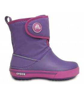 Crocs Kids' Crocband™ II.5 Gust Boot Blue Violet/Wild Orchid