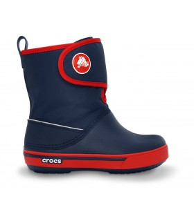 Crocs Kids' Crocband™ II.5 Gust Boot  Navy / Red