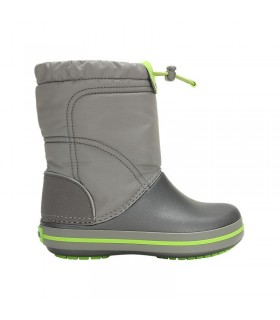 Crocs Kids' Crocband™ LodgePoint Boot Smoke/ Graphite