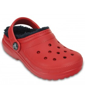 Crocs Classic Lined Clog K Pepper/Navy