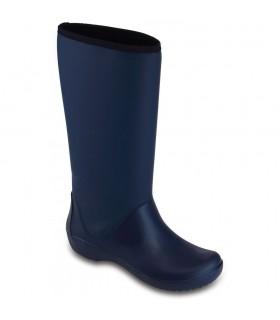 Crocs Women's RainFloe Tall Boot Navy
