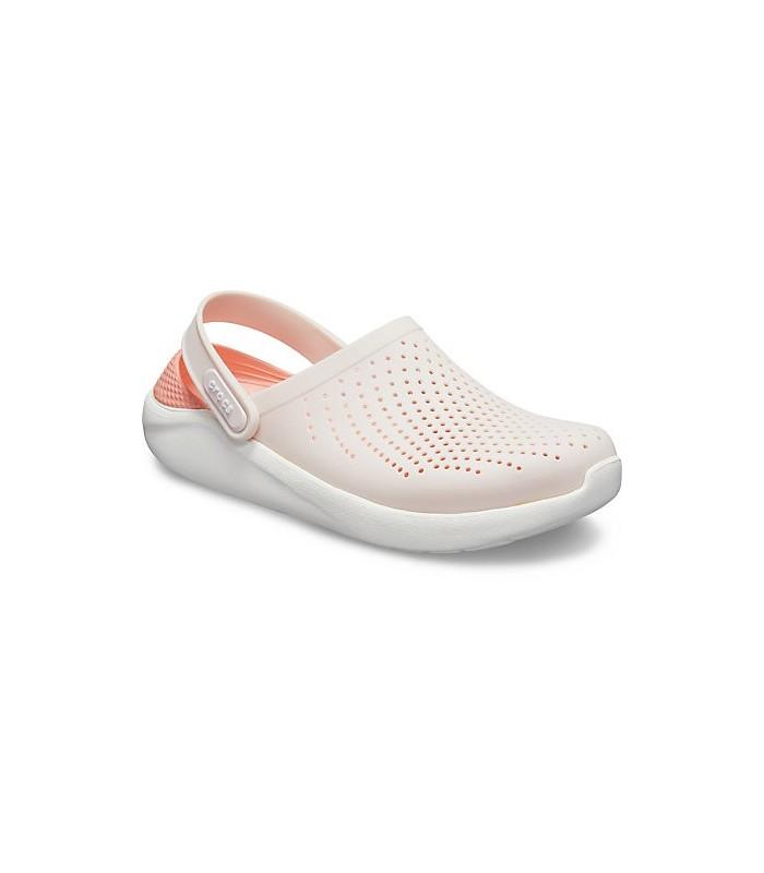3b6de66b69a Crocs LiteRide Clog Barely Pink / White