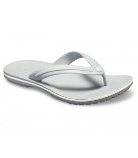 Crocband Flip  Light Grey / White