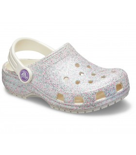 Classic Glitter Clog Oyster