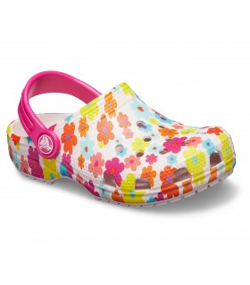 Classic Seasonal Graphic Clog Barely Pink