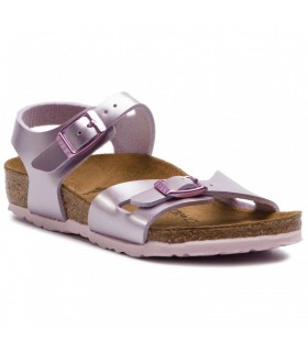 Birkenstock Rio Kids Electric Metallic Lilac 1012522