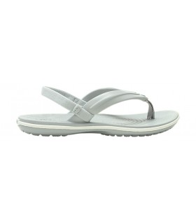 Crocband™ Strap Flip Light Grey