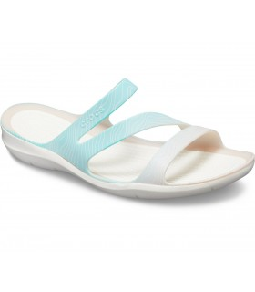 Crocs Swiftwater™ Seasonal Graphic Sandal Pool Ombre / White