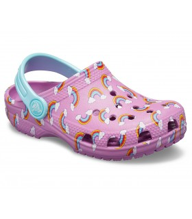 Classic Seasonal Graphic Clog Violet
