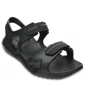 Crocs Swiftwater River Sandal Black / Black