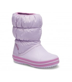 Crocs Kids' Winter Puff Boot Lavender