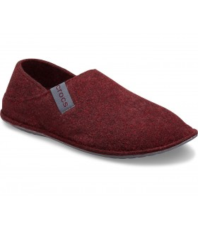 Crocs Classic Convertible Slipper Burgundy / Charcoal