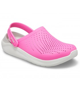 Crocs LiteRide Clog Electric Pink / Almost White