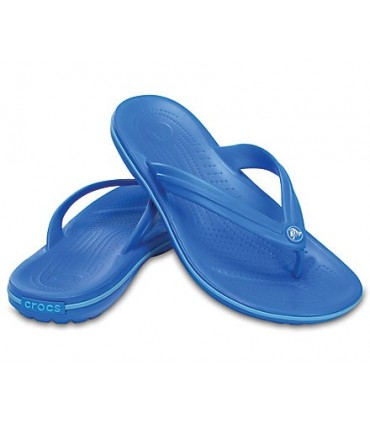 Crocband Flip (Ocean/Electric Blue)