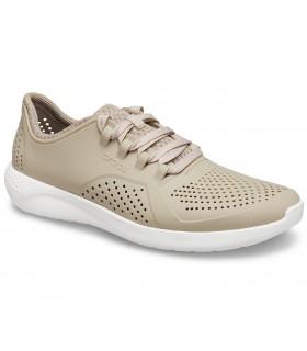 Crocs LiteRide Pacer Cobblestone / White