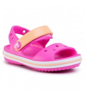 Crocband Sandal Kids  Electric Pink/Cantaloupe 12856-6QZ