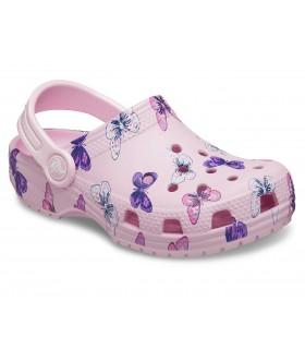 Classic Butterfly Clog Ballerina Pink