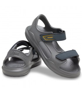 Crocs Swiftwater Expedition Sandal  Slate Grey/Charcoal
