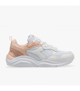 Diadora  Whizz Run White / Pale  Peach 175535