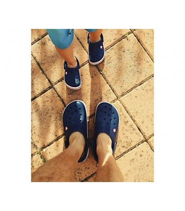 Crocband Clog Navy Red
