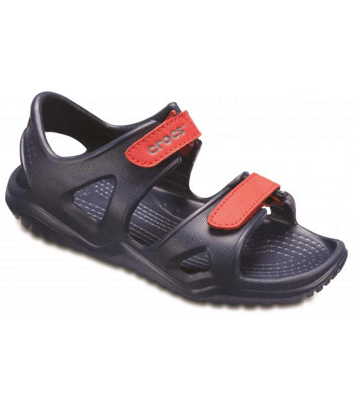 Swiftwater River Sandal Navy / Flame