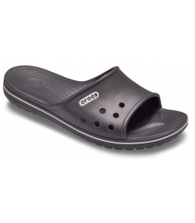 Crocband II Slide Slate Grey/ White