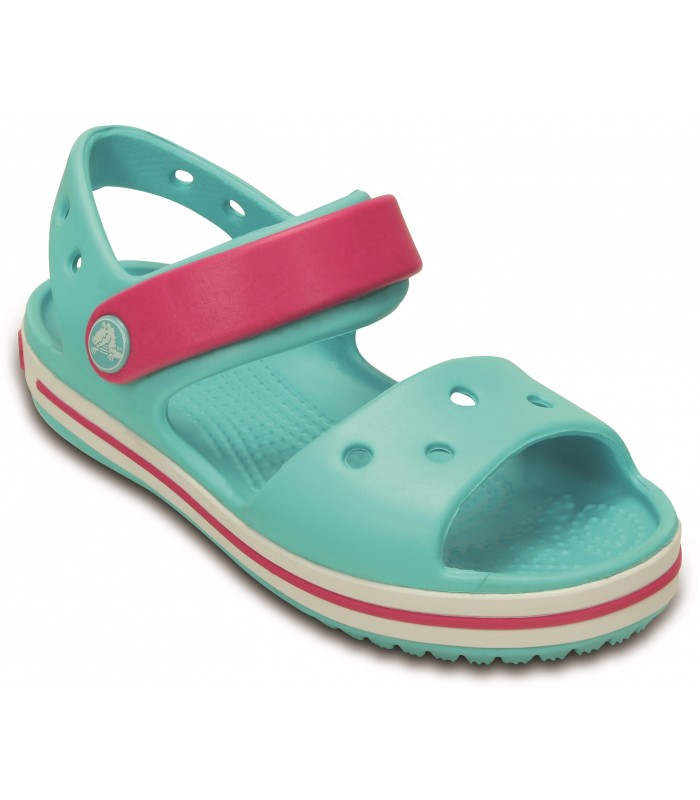Crocband Sandal Kids Pool/Candy Pink)