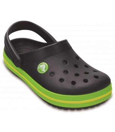 Crocband Clog Navy / Volt Green