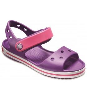 Crocband Sandal Kids Amethyst / Paradise Pink