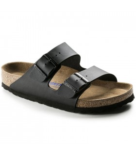 Birkenstock Arizona Birko-Flor SOFT FOOTBED Black